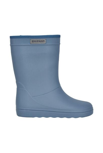 Enfant rubber rain boots flint stone