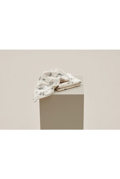 Garbo & Friends face towel bluebell