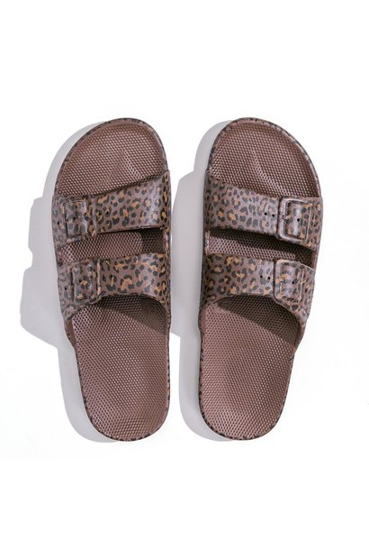 Freedom moses fancy slippers wildcat choco