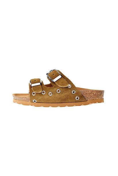 LMDI balea sandals suede khaki