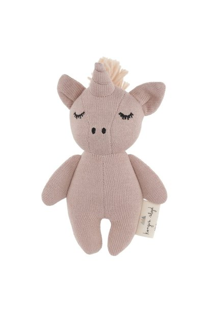 Konges Slojd knuffel mini unicorn