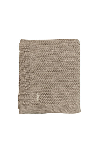Mies & Co soft knitted wieg deken dune