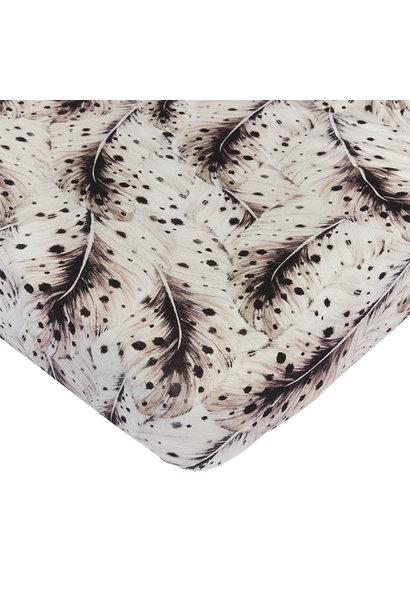 Mies & Co wieg hoeslaken soft feathers