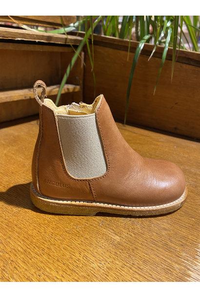 Angulus Starter chelsea boot tan beige