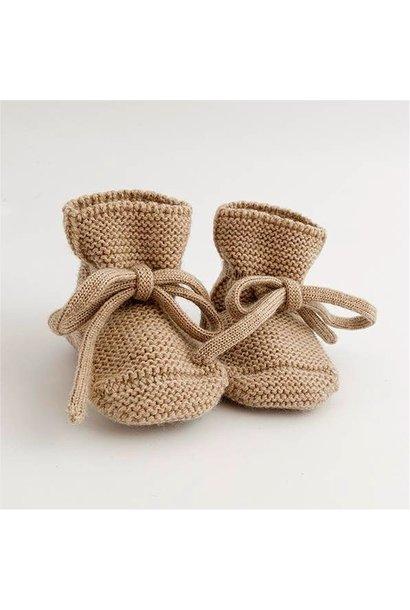 hvid booties sand
