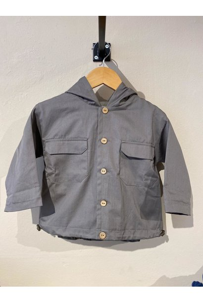 Play Up twill parka cocoon