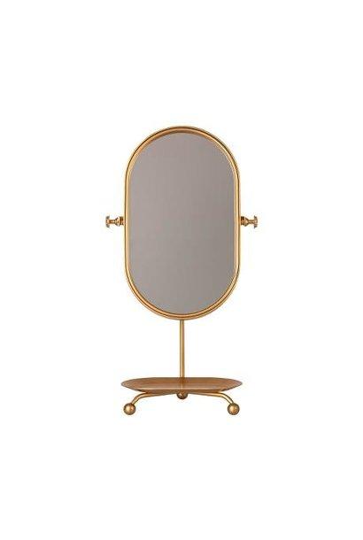 Maileg table mirror gold