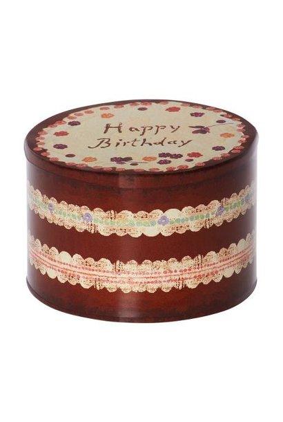 Maileg birthday cake box