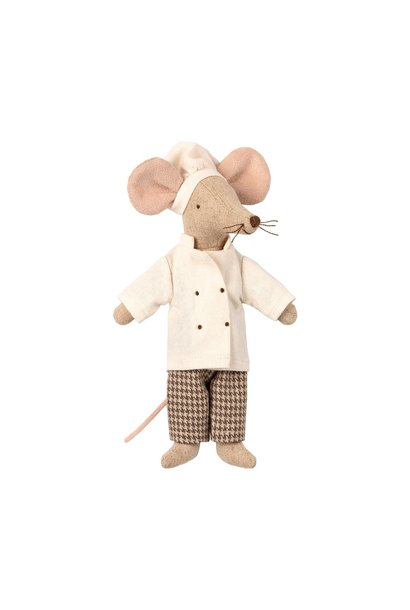 Maileg father mouse chef