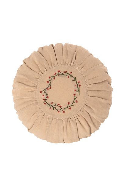 Maileg cushion round flower circle