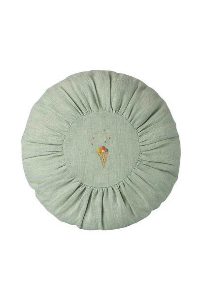 Maileg cushion round mint