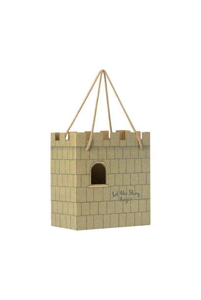Maileg paper bag castle let the story begin