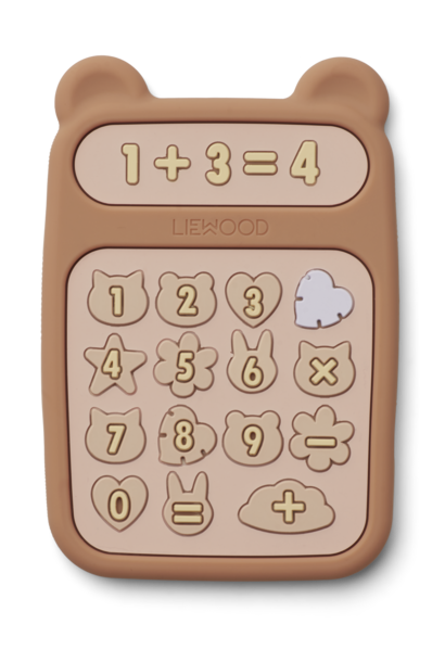 Liewood bijtspeelgoed niels calculator tuscany rose