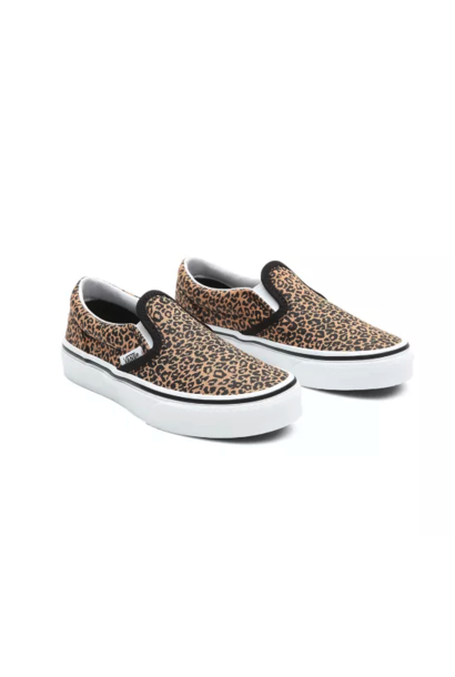 Vans classic slip-on leopard black