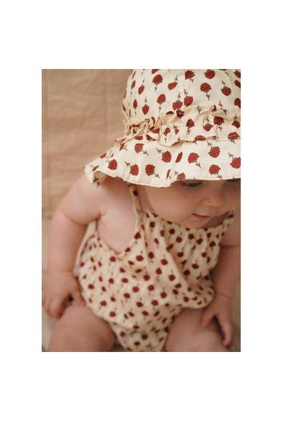Konges Slojd body acacia poppyflower red