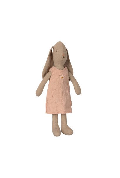 Maileg bunny with rose dress size 1