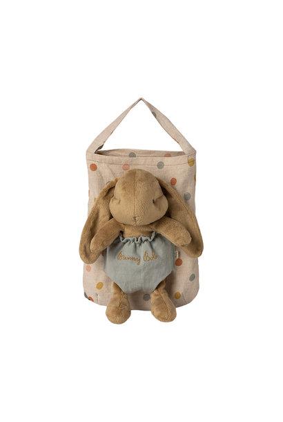 Maileg bunny bob with carrier