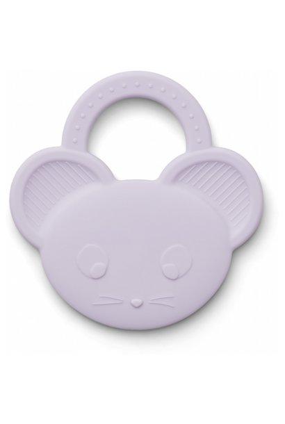 Liewood bijtspeelgoed gemma mouse light lavender
