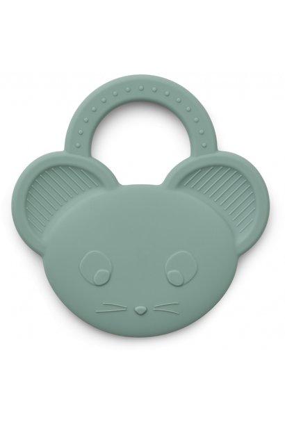 Liewood bijtspeelgoed gemma mouse peppermint