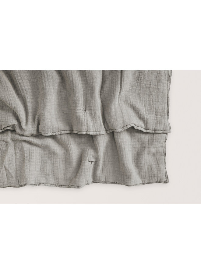 Filled muslin quilt thyme