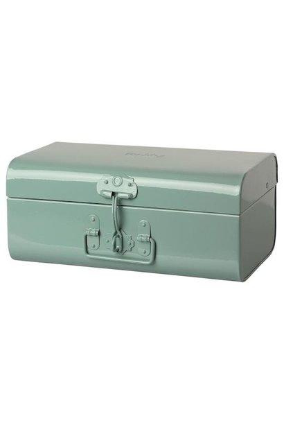 Maileg storage suitcase blue medium