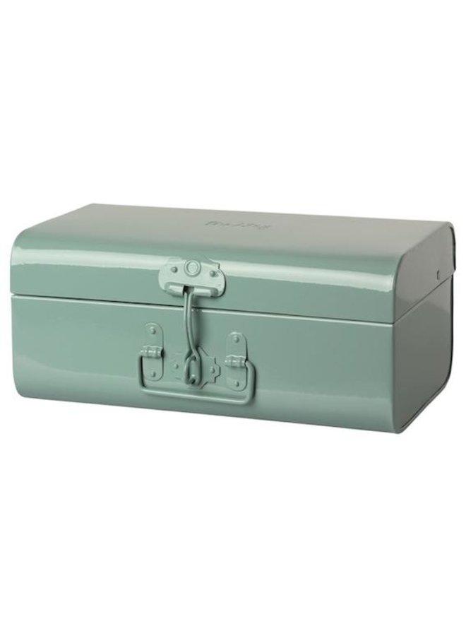 Storage suitcase blue medium