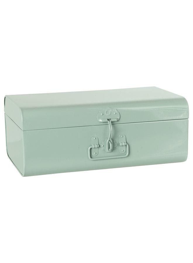 Storage suitcase blue large