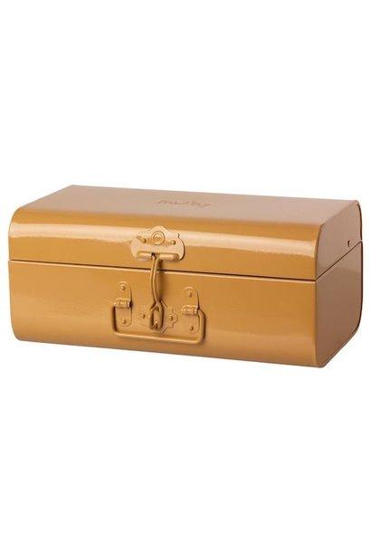Maileg storage suitcase ocher medium