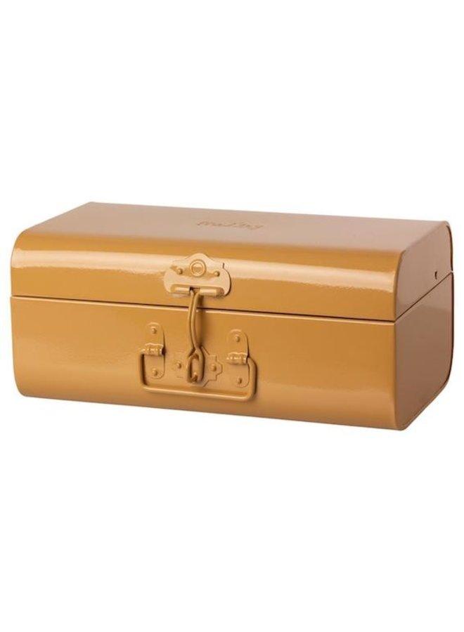 Storage suitcase ocher medium