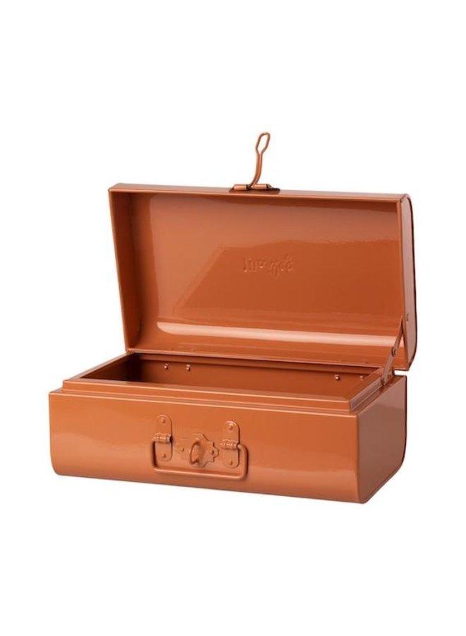Storage suitcase rose medium