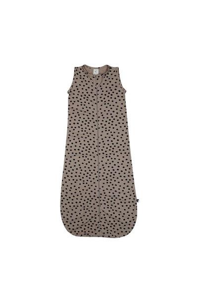 Mies & Co Slaapzak bold dots dark brown (6-24 months)