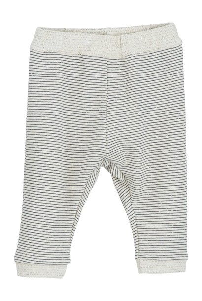 Serendipity baby pants sweat offwhite/ navy stripes