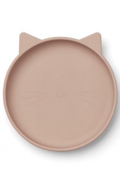 Liewood plate olivia rose cat