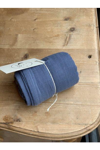Liewood muslin cloth leon dark blue wave
