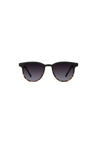Komono kids zonnebril francis matte black/ tortoise
