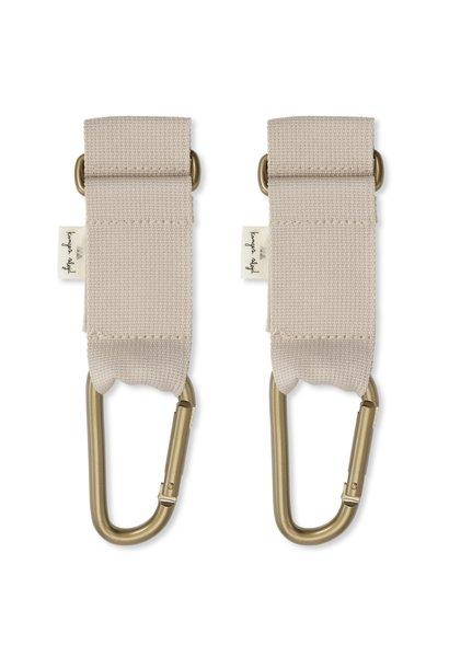 Konges Slojd stroller straps beige