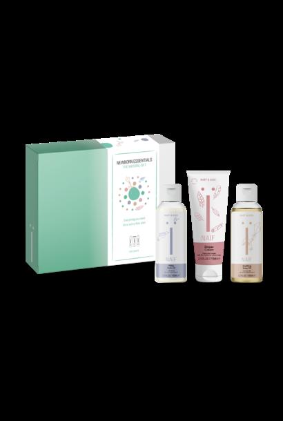 NAÏF newborn essentials gift box