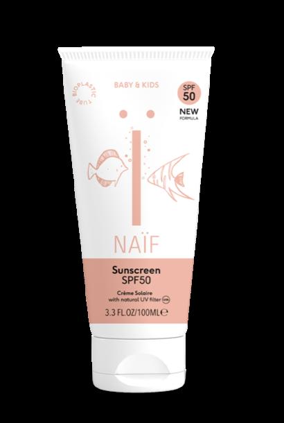NAÏF natural sunscreen baby & kids