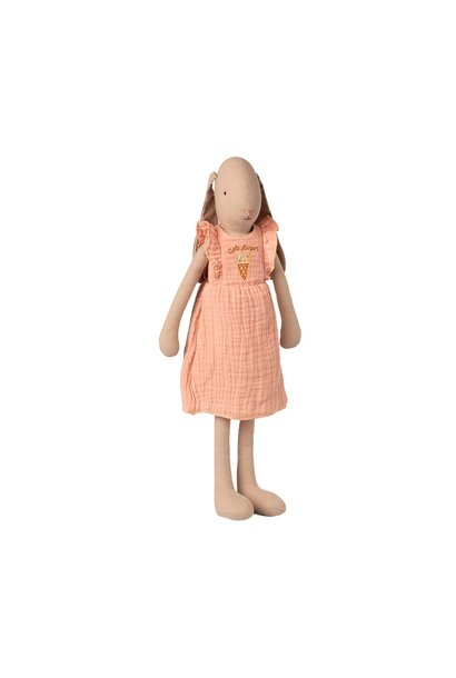 Maileg bunny with rose dress size 3