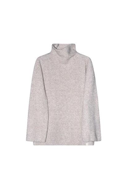 I dig denim  billie knitted sweater MOM beige