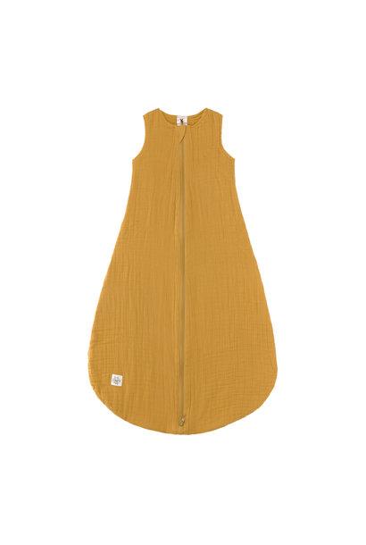 Lässig summer sleeping bag muslin mustard