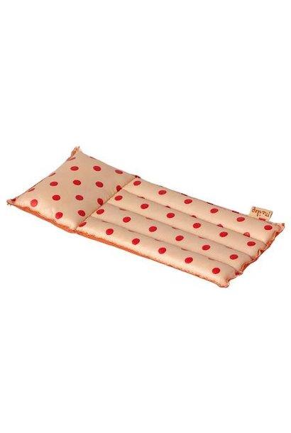 Maileg air mattress mouse red dot