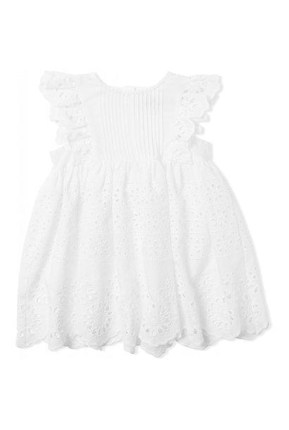 Konges Slojd dress posey clear white