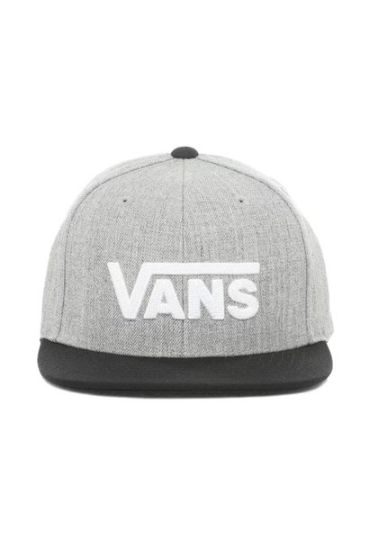 Vans pet drop v II snapback heather grey/ black
