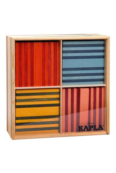 Kapla 100 stapelplankjes 8 kleuren