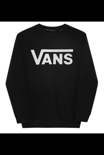 Vans classic crew sweater black-white