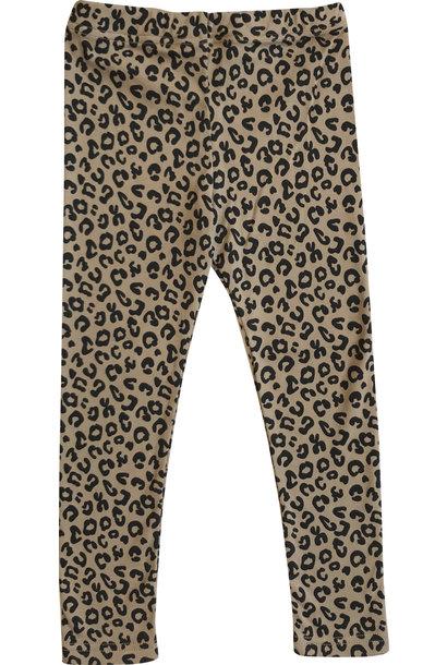 Maed for mini legging brown leopard