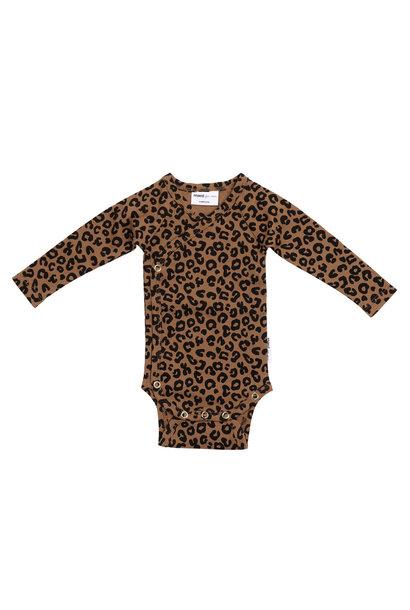 Maed for mini wrap body chocolate leopard