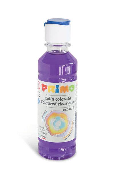 Primo (s)lijm op waterbasis 240ml Paars