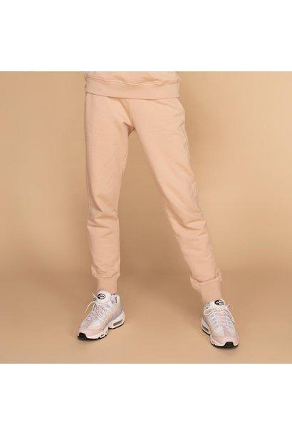 &C x REVIVE jogging pants beige